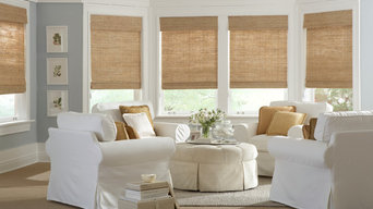 Window coverings, Roman Shades, Shutters and Drapery