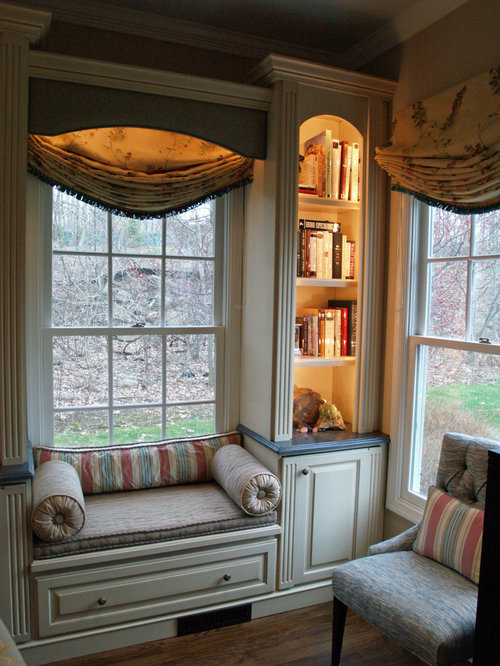 Window Seat Bookcase Houzz