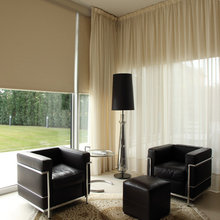 Blinds with Curtains