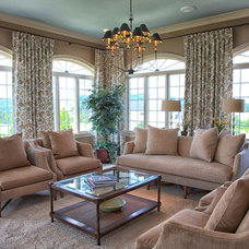 Traditional Living Room by Newtown Design Group