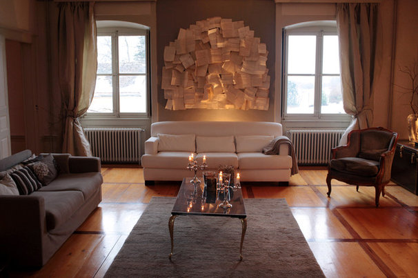 Eclectic Living Room by Interior Design Philosophy