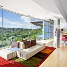 Contemporary Living Room by Winn Wittman Architecture