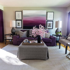 Eclectic Living Room by Tiffany Brooks, HGTV Host/ You and Your Decor