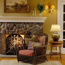 Traditional Living Room by Cynthia B. Wilson - CB Wilson Interior Design