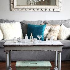 Eclectic Living Room Winter Living Room