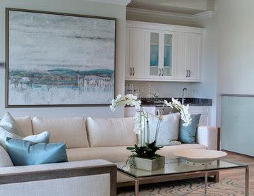 Winterberry Model Living Area