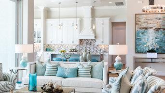 Winterberry Model Living Room