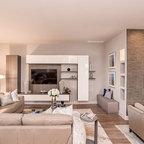 Luxury Condo Contemporary Living Room St Louis By