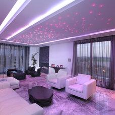 Modern Living Room by Elytronic