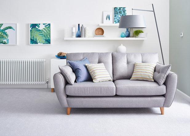 Scandinavian Living Room by Schneider Electric UK