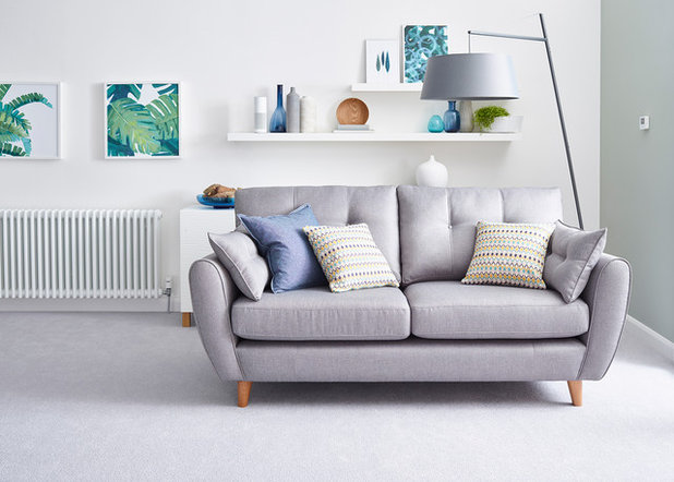 Scandinavian Living Room by Schneider Electric UK