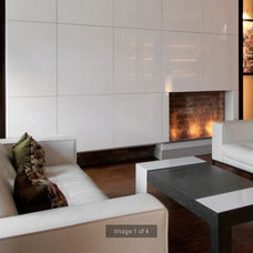 Modern Living Room by EcoSmart Fire