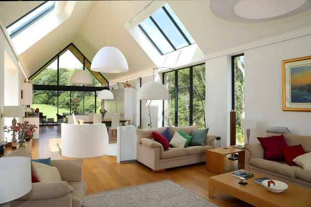 Contemporary Living Room by Nye Saunders Ltd.