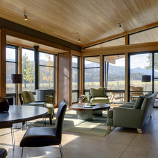 modern living room by Balance Associates Architects