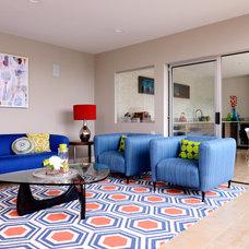Contemporary Living Room by Spaces Designed, Interior Design Studio, LLC