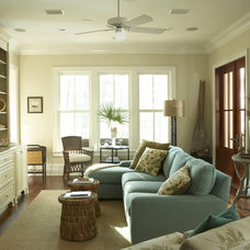 Beach Style Living Room by Chancey Design