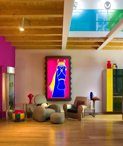 Contemporary Living Room by Anna Gili Design Studio