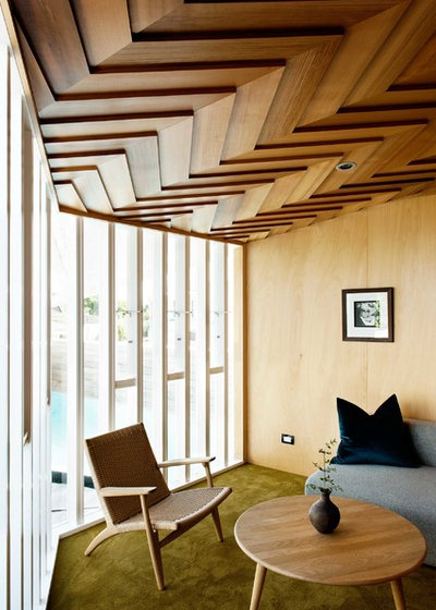 Contemporary Living Room by Bull O'Sullivan Architecture Limited