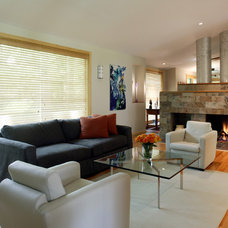 Modern Living Room by Brennan + Company Architects