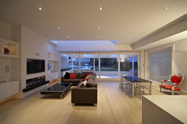 Contemporary Living Room by jessop  architects