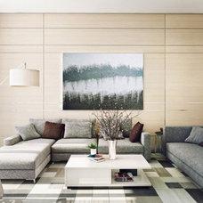Contemporary Living Room by Dayoris Group