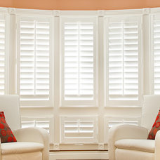 Contemporary Window Blinds by JMK Shutters