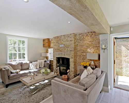country living room designs. Modren Designs Design Ideas For A Medium Sized Rural Formal Open Plan Living Room In  Hertfordshire With Brown And Country Living Room Designs T