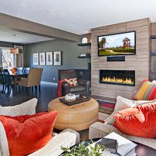 Contemporary Living Room by Ispiri Design-Build