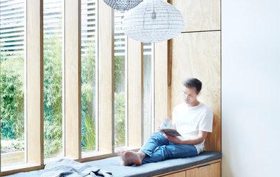 En detalle: El nuevo cuarto de estar de una familia australiana