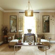 Traditional Living Room by Dillard Pierce Design Associates