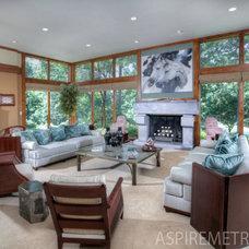 Asian Living Room by Aspire Metro magazine