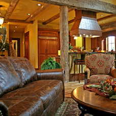 Traditional Living Room by Appalachian Antique Hardwoods