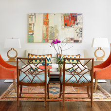 Transitional Living Room by Leigh Olive Mowry-Olive Interiors
