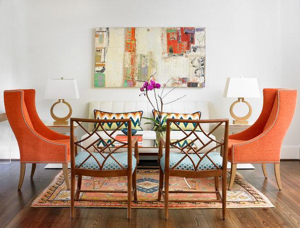 Clásico renovado Salón by Leigh Olive Mowry-Olive Interiors