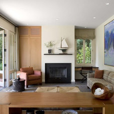 Contemporary Living Room by Cathy Schwabe Architecture
