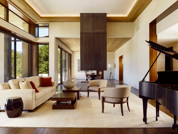 C mo crear ambientes envolventes utilizando luz indirecta - Iluminacion indirecta salon ...