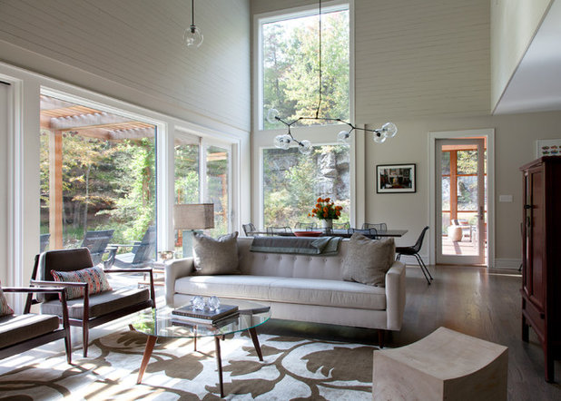 Contemporary Living Room by Architectural Collaborative