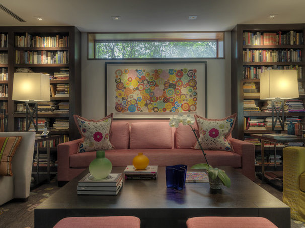 Contemporary Living Room by Ziger/Snead Architects