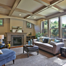 Transitional Living Room by Renaissance Homes