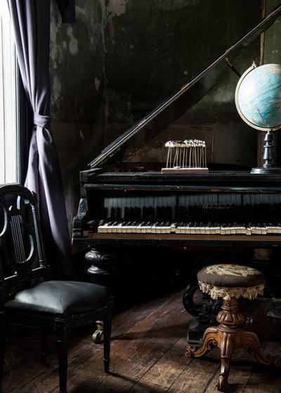 Tutto nero lo stile dark e la seduzione del lato oscuro for Arredamento gotico