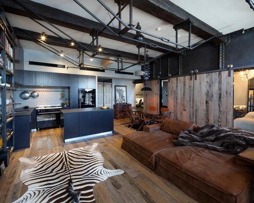 industrial design wohnzimmer ihr traumhaus ideen. Black Bedroom Furniture Sets. Home Design Ideas
