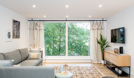 Houzz Tour: Small-space Solutions Make a Flat Open and Sociable