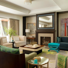 Contemporary Living Room by Miller Design Co.