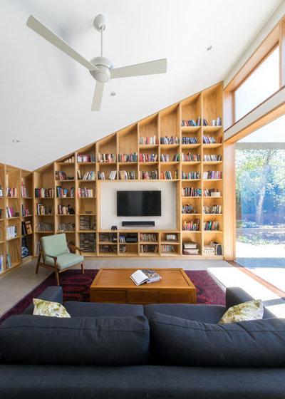 Contemporain Salon by Windust Architecture x Interiors
