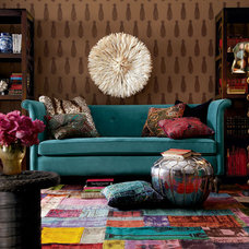 Eclectic Living Room by Horchow