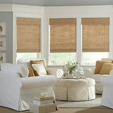Traditional Window Treatments by Ford Shutters Shades and Draperies