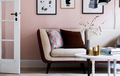 Årets trendigaste färg? Våga rosa i hemmets alla rum