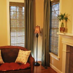 Woven Wood Blinds -