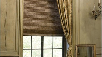 Woven Wood Shade with panel