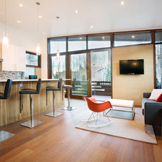 Modern Living Room by Studio B Architecture + Interiors